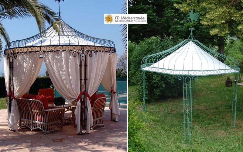 Fd Mediterranee Pavilion Huts and gazebos Garden Gazebos Gates...  |