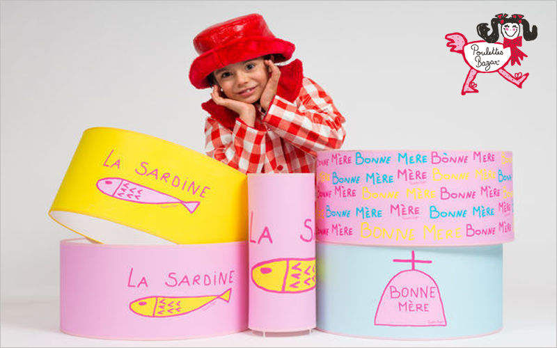 POULETTES BAZAR Child Lampshade Lampshades Lighting : Indoor  |