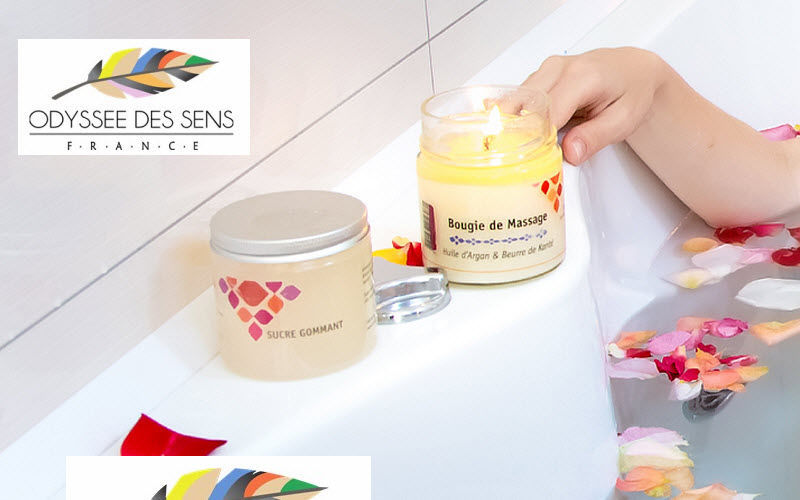ODYSSEE DES SENS Massage candle Various flowers and aromatics Flowers and Fragrances  |