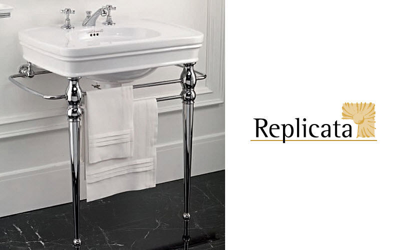 Replicata Washbasin with legs Sinks and handbasins Bathroom Accessories and Fixtures  |
