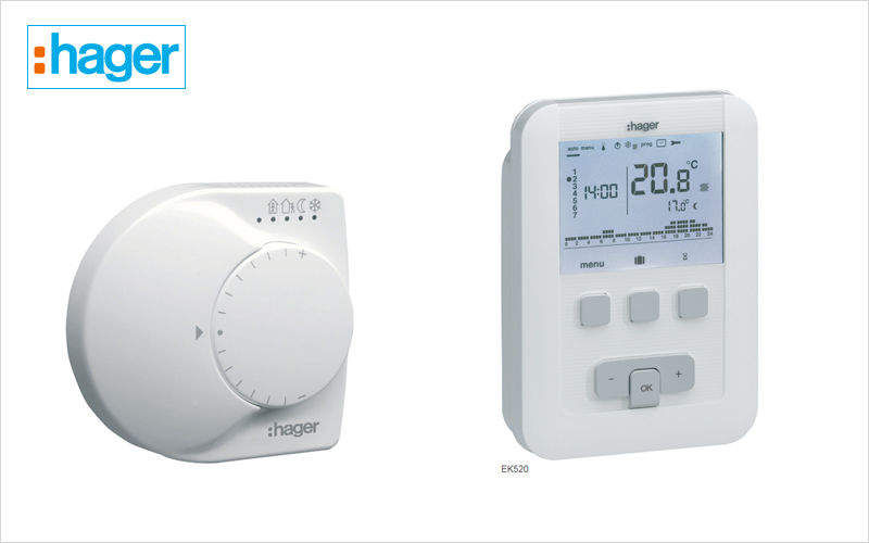 Hager France Programmable thermostat Various home automation accessories Home automation  |