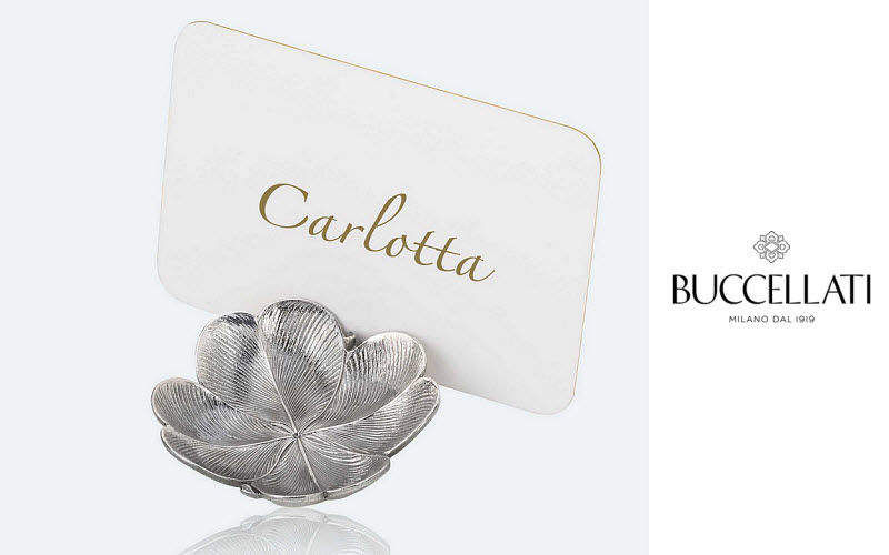 Buccellati Table place card Labels and brands Tabletop accessories   