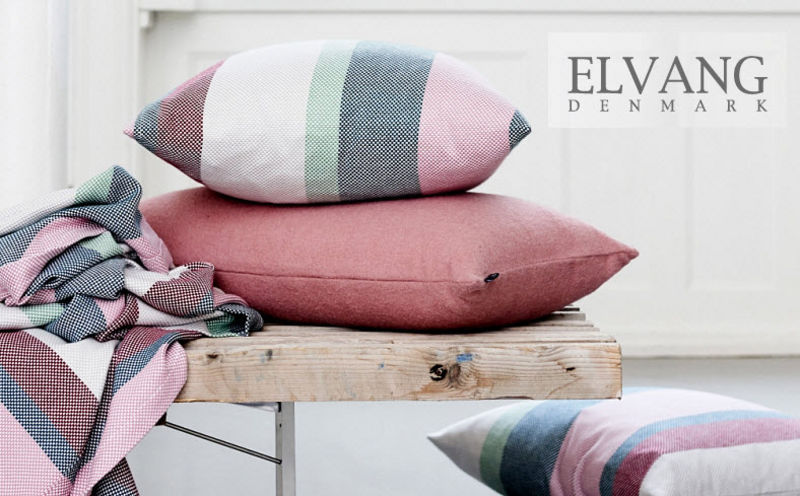 ELVANG Square Cushion Pillows & pillow-cases Household Linen  |