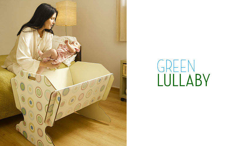 GREEN LULLABY Cradle Children's beddrooms Children's corner  |
