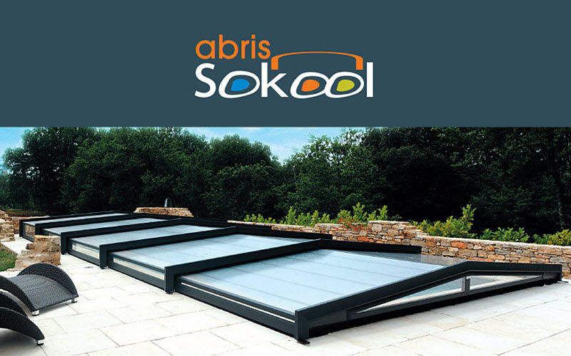 SOKOOL Sliding/telescopic pool enclosure Swimming pool covers Swimming pools and Spa  |