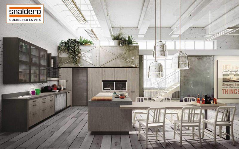 Snaidero Built in kitchen Fitted kitchens Kitchen Equipment   