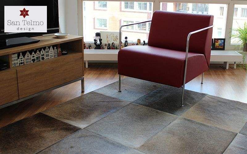 SAN TELMO DESIGN Leather rug Animal skins Carpets Rugs Tapestries  |