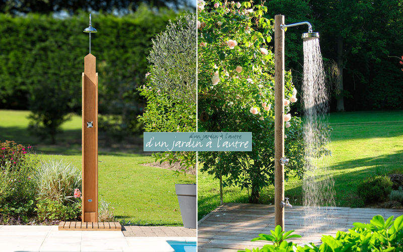 Douches de jardin Outdoor shower Games and comfort Swimming pools and Spa  |