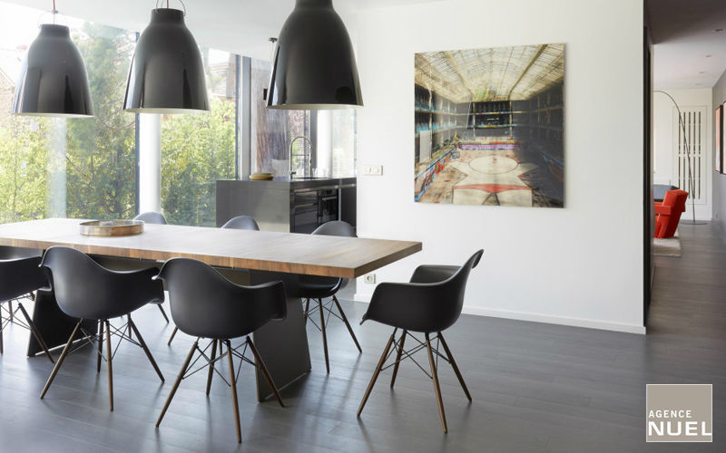 Agence Nuel / Ocre Bleu Interior decoration plan Interior decoration plans Houses  |