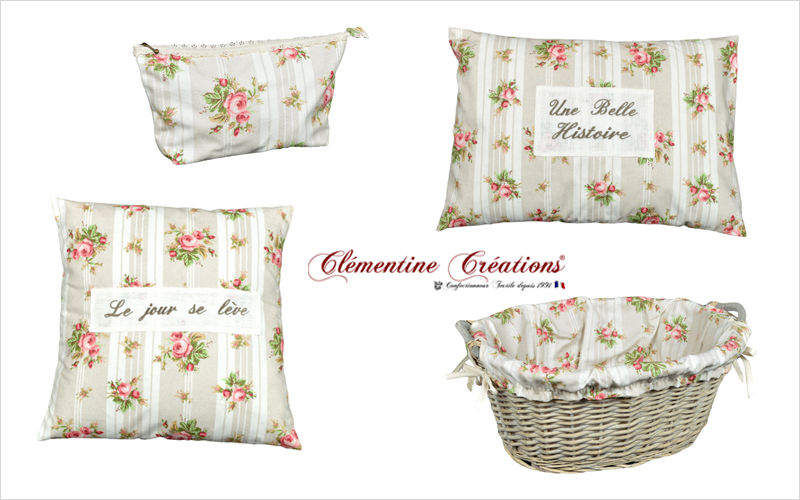 Clementine Creations Square Cushion Pillows & pillow-cases Household Linen  |