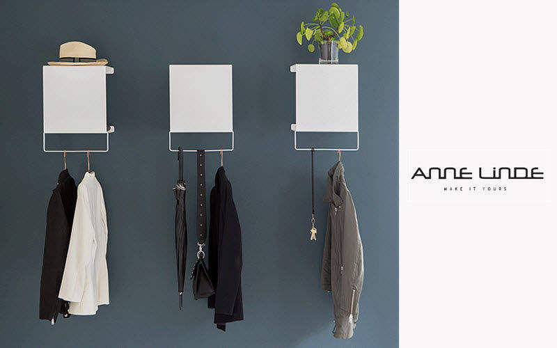 ANNE LINDE Cloakroom Clothes racks Wardrobe and Accessories Entrance | Design