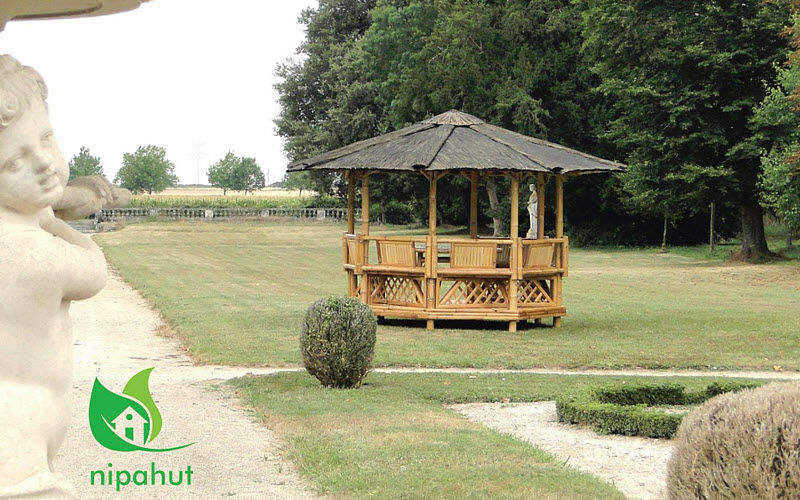 NIPAHUT Gazebo Huts and gazebos Garden Gazebos Gates...  |
