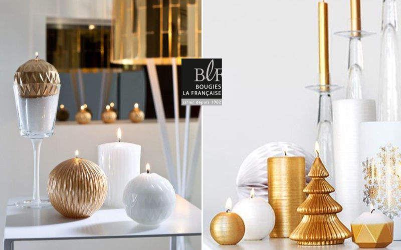 Bougies La Francaise Christmas candle Christmas decorations Christmas and Holidays  |