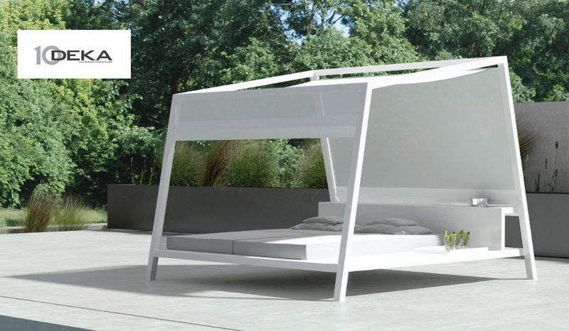 10 Deka Outdoor bed Garden chaises longues Garden Furniture  |