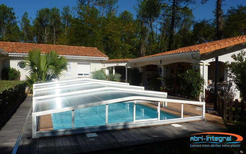 Abri-Integral High telescopic pool cover Swimming pool covers Swimming pools and Spa  |