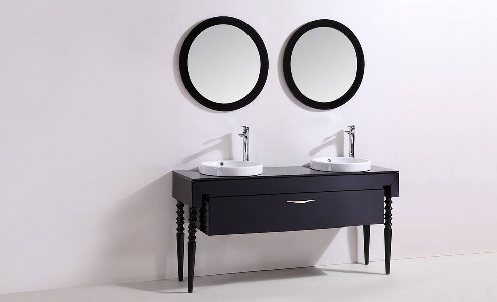 UsiRama.com Double basin unit Bathroom furniture Bathroom Accessories and Fixtures  |