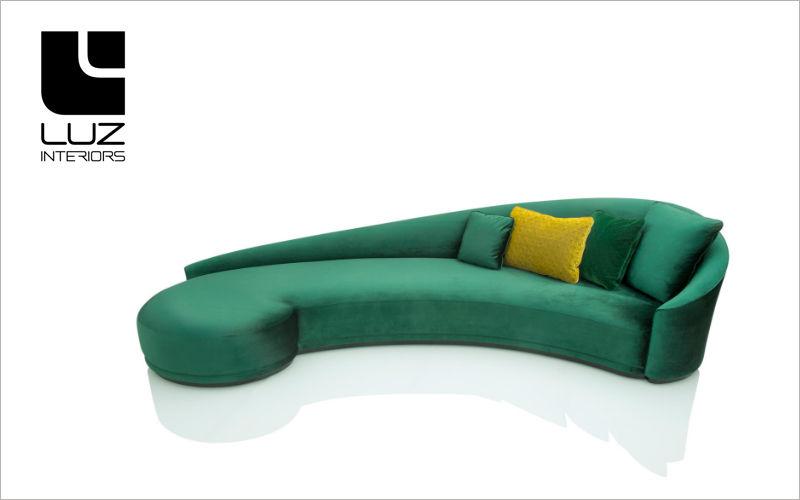 LUZ INTERIORS Lounge sofa Méridienne' sofa Seats & Sofas  |