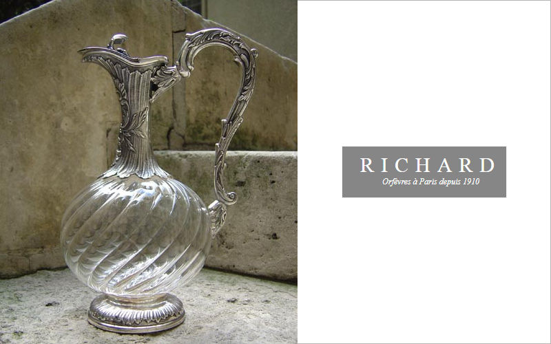 Richard Orfèvre Carafe [antique] Bottles & Carafes Glassware  |