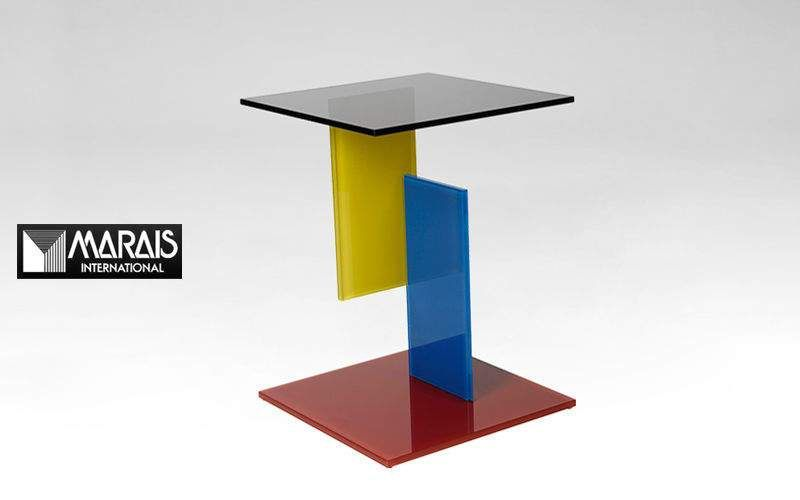 Marais International Pedestal table Occasional table Tables and Misc.  |