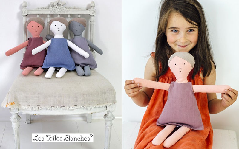 LES TOILES BLANCHES Doll Dolls Games and Toys  |