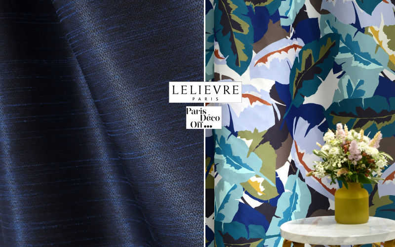 LELIEVRE Printed material Furnishing fabrics Curtains Fabrics Trimmings  |