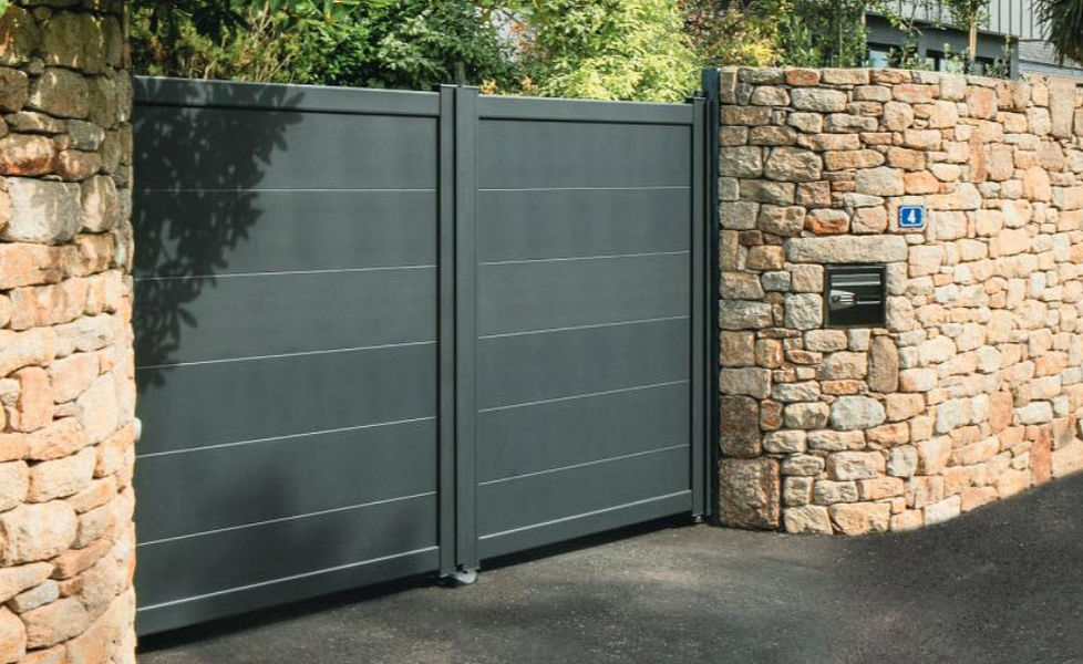 COTE PORTAIL Casement gate Gates and entrances Garden Gazebos Gates...  |