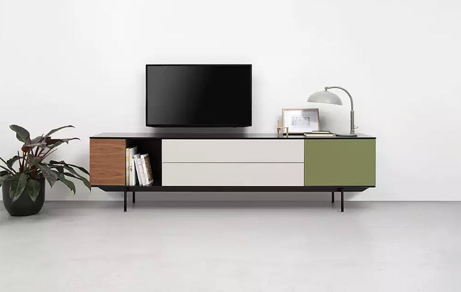 Pastoe Low Chest Cabinets and Buffets Storage   