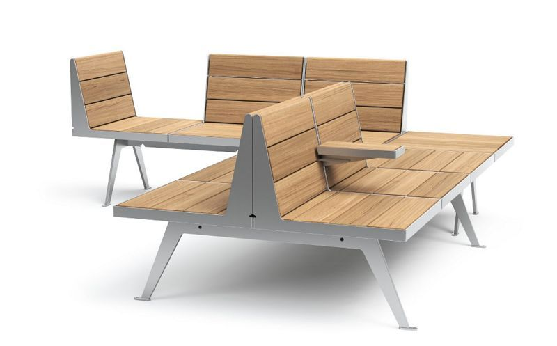 Vestre Town bench Garden seats Garden Furniture  |