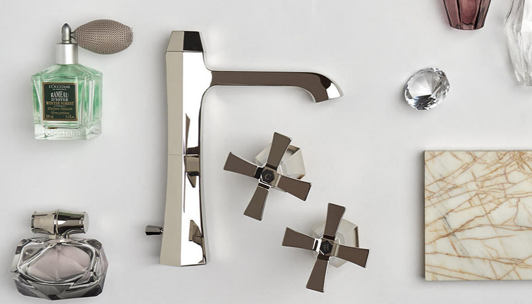 Cisal Two holes basin mixer Taps Bathroom Accessories and Fixtures  |