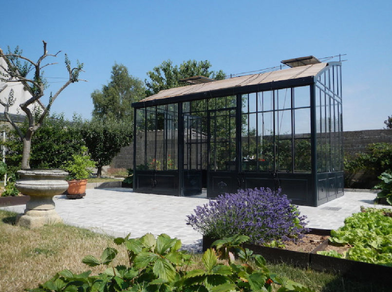 Serres et Ferronneries d'Antan Garden greenhouse Locks Garden Gazebos Gates... Garden-Pool | Design Contemporary