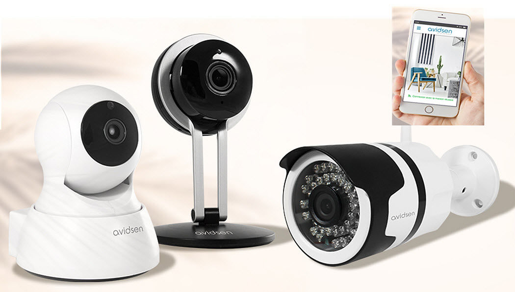 AVIDSEN Security camera Intercom phones & video surveillance Home automation  |