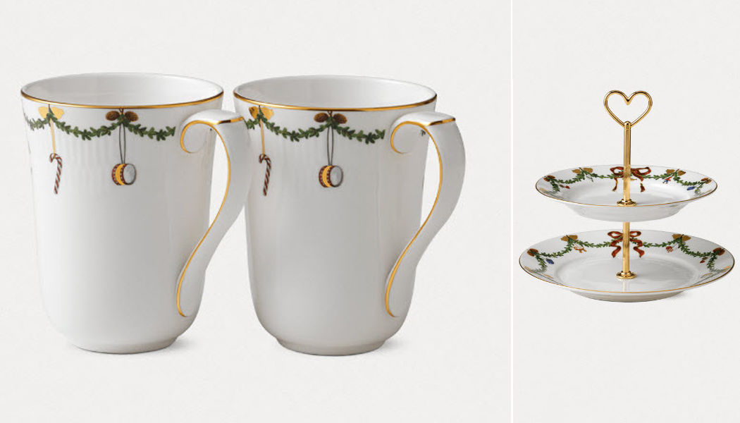 Royal Copenhagen Christmas and party tableware Christmas decorations Christmas and Holidays  |