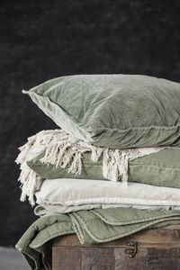 IB Laursen - olive - Rectangular Cushion