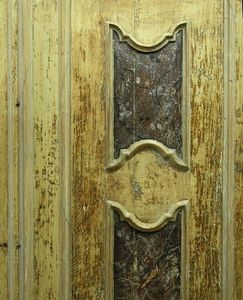 Bleu Provence Antique door