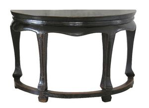 Moissonnier Half moon console table