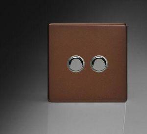 Wall push button