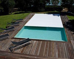 Caron Piscines Winter swimming pool cover