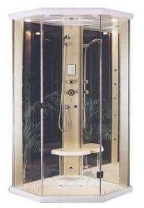 Hydromassage shower enclosure