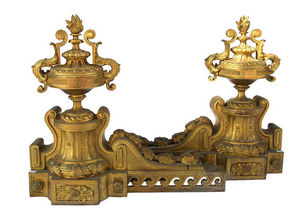 Andiron-Jean Luc Ferrand-Louis XVI