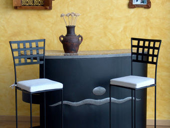 Decoraci�n Andalus� - Bar De Forja - Bar Counter