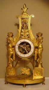 GALERIE DES VICTOIRES - squelette - Skeleton Clock