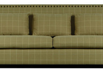 KA INTERNATIONAL - salem + tela cavan piedra - 3 Seater Sofa