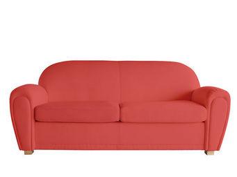 Miliboo - new club canape 3p pu - 2 Seater Sofa