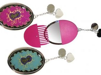 Soizick - peigne et miroir - Comb
