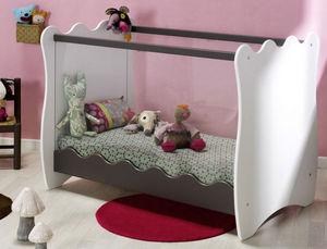 Katherine Roumanoff - lit bébé doudou taupe - Baby Bed