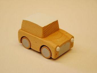 KUKKIA - k001-beech-kuruma - Wooden Toy
