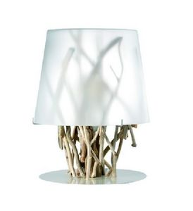 Bleu Nature - kiinau blanche pm - Table Lamp