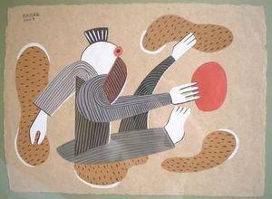 Michel Maugee -  - Gouache