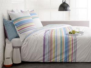 BLANC CERISE - housse de couette - percale (80 fils/cm²) - imprim - Bed Linen Set