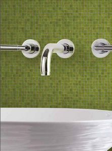 DEMOUR & DEMOUR Mosaïques -  - Mosaic Tile Wall